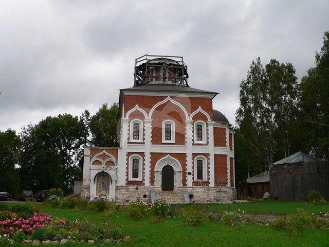 Ново-Никольский собор, 1779-1820 -е гг. (с остатками храма XVI-XVII вв.), ансамбль Можайского кремля
