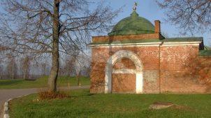 Башни и ограды юго-западные, 1837-1839 гг., Спасо-Бородинский монастырь, XIX в.