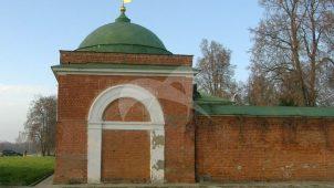 Башни и ограды юго-восточные, 1837-1839 гг., Спасо-Бородинский монастырь, XIX в.
