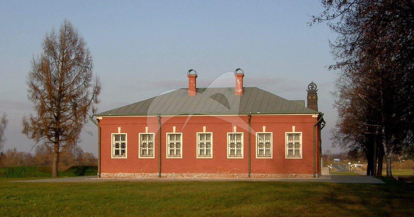 Здание гостиницы, 1840-е гг., Спасо-Бородинский монастырь, XIX в.