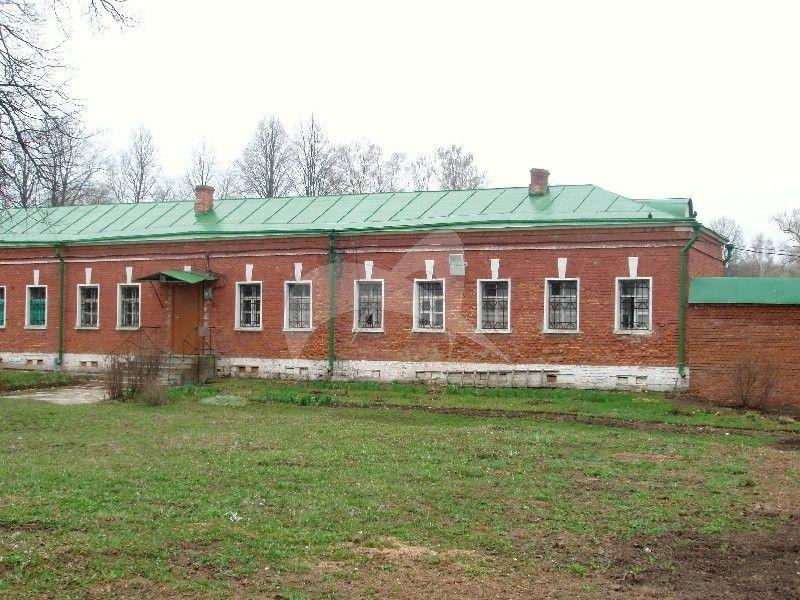 Келейный корпус, 2-я четв. XIX в., Спасо-Бородинский монастырь, XIX в.