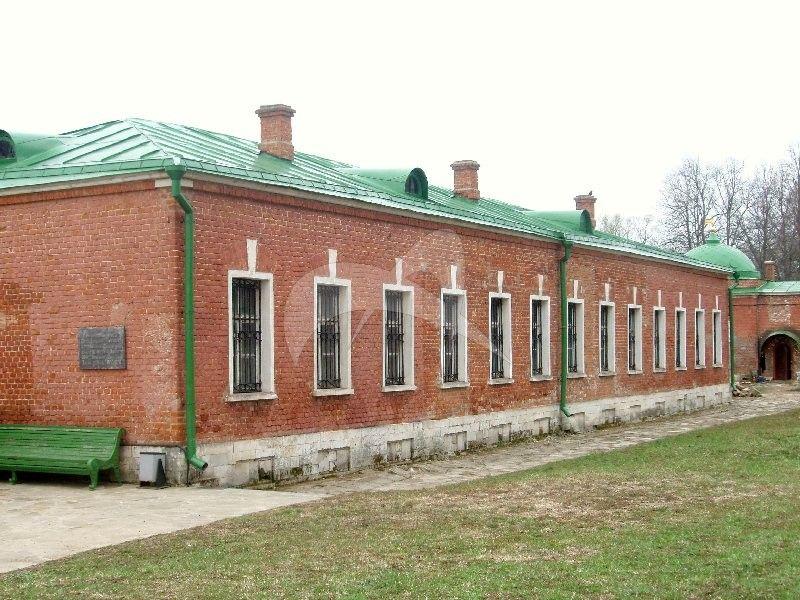 Восточный одноэтажный корпус, 2-я четв. XIX в., Спасо-Бородинский монастырь, XIX в.