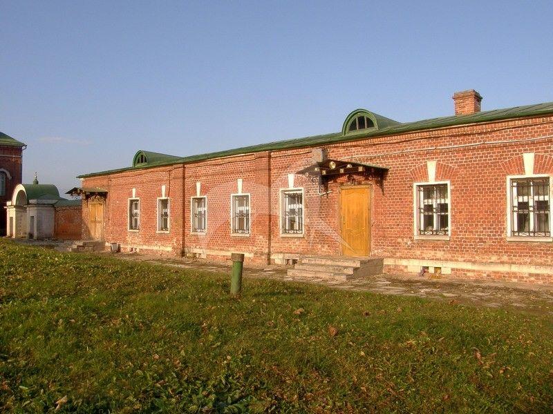 Восточный одноэтажный корпус, Спасо-Бородинский монастырь, XIX в.