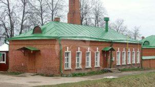 Здание прядильной мастерской (у южной стены), 2-я четв. XIX в., Спасо-Бородинский монастырь, XIX в.