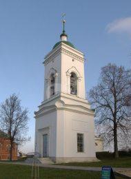 Колокольня, 1838 г., ансамбль Спасо-Бородинского монастыря