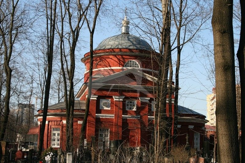 Церковь Армянского кладбища, 1815 г., арх. А.Г. Григорьев