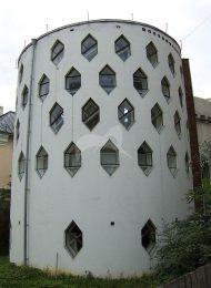 Экспериментальный жилой дом, 1927-1929 гг., арх. К.С. Мельников