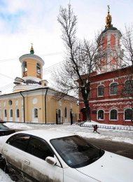 Церковь Федора Стратилата (Тирона), 1806 г., арх. И.В. Еготов, комплекс зданий Меншиковой башни