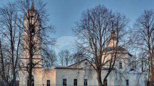 Церковь Апостолов Петра и Павла, 1730-1734 гг., 1837-1842гг.