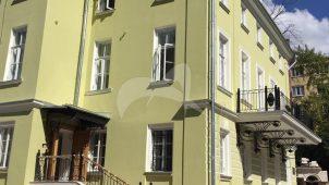 Главный дом, конец XVIII в, перестроен в 1817 г., городская усадьба (бывший дом Боткина)