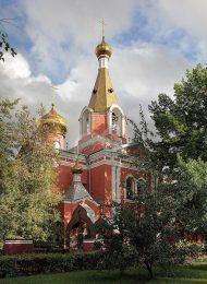 Церковь Воскресения Христова на бывшем Семеновском кладбище, 1855 г., по проекту К.А. Тона