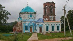 Церковь Николая Чудотворца, 1815-1819 гг., трапезная 1866 гг.