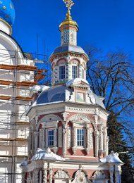 Надкладезная часовня, Ансамбль Троице-Сергиевской лавры