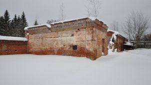 Каретный сарай, 1880-1894 гг., городская усадьба Мараевых