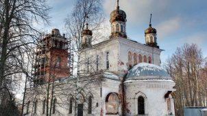 Церковь Казанской иконы Божией Матери, 1848-1850 гг.