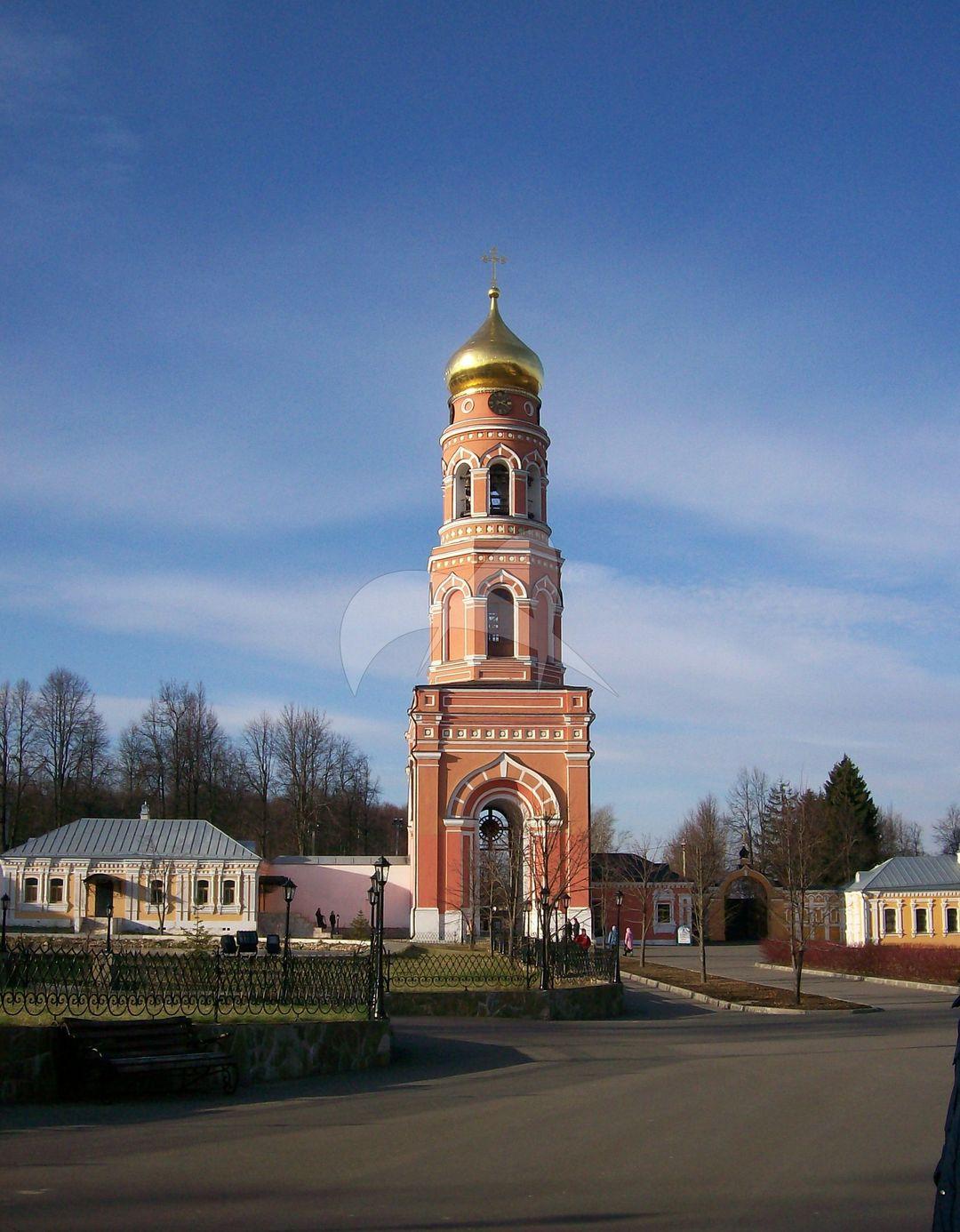 Колокольня с северной сторожкой, монастырь «Вознесенская Свято-Давидова пустынь»