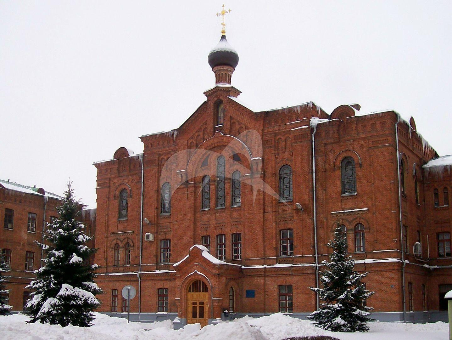 Главный корпус с церковью Сергия, комплекс Московской окружной психиатрической лечебницы, 1902-1907 гг.