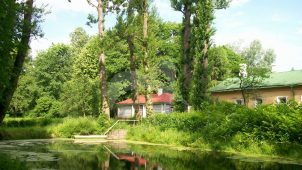 Парк с прудом, усадьба «Мелихово»