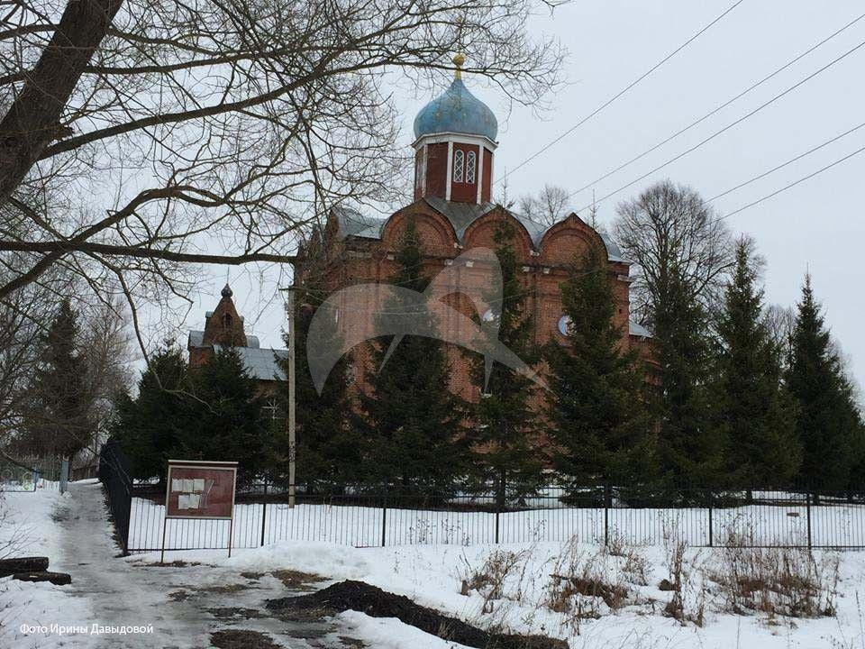 Церковь Покрова Пресвятой Богородицы колокольней, 1853-1855 гг.