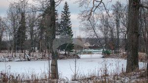 Парк, усадьба Апраксиных, ХVIII в.