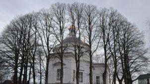 Церковь Спаса 1799 г. с приделом  Нерукотворного образа