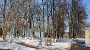 Парк (остатки), усадьба «Лапино-Спасское»