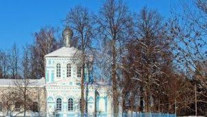 Церковь великомученика Георгия Победоносца, 1886-1889 гг.