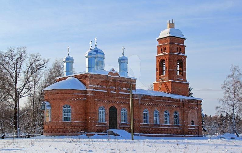 Церковь Святой Троицы, 1886г.