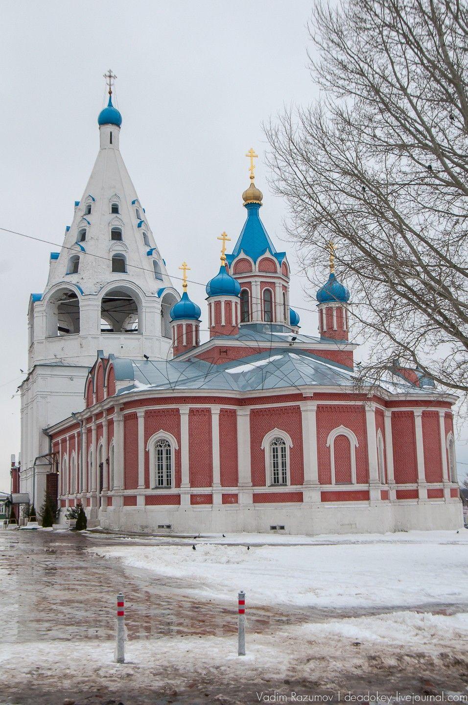 Тихвинская церковь,  1692 г., Ансамбль Кремля, ХVI в.