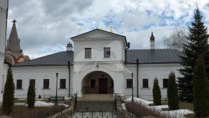 Корпус настоятельский, Высоцкий монастырь, ХV-XVIII вв.