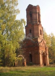 Колокольня церкви Николая Чудотворца, конец XIX в.