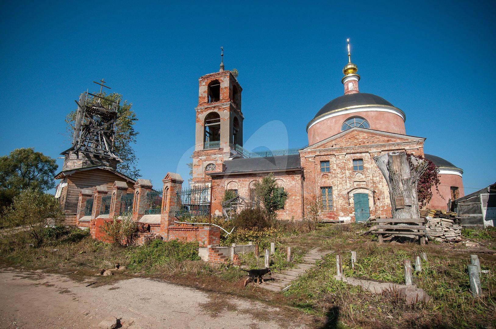 Церковь Вознесения Господня, 1815-1820 гг.