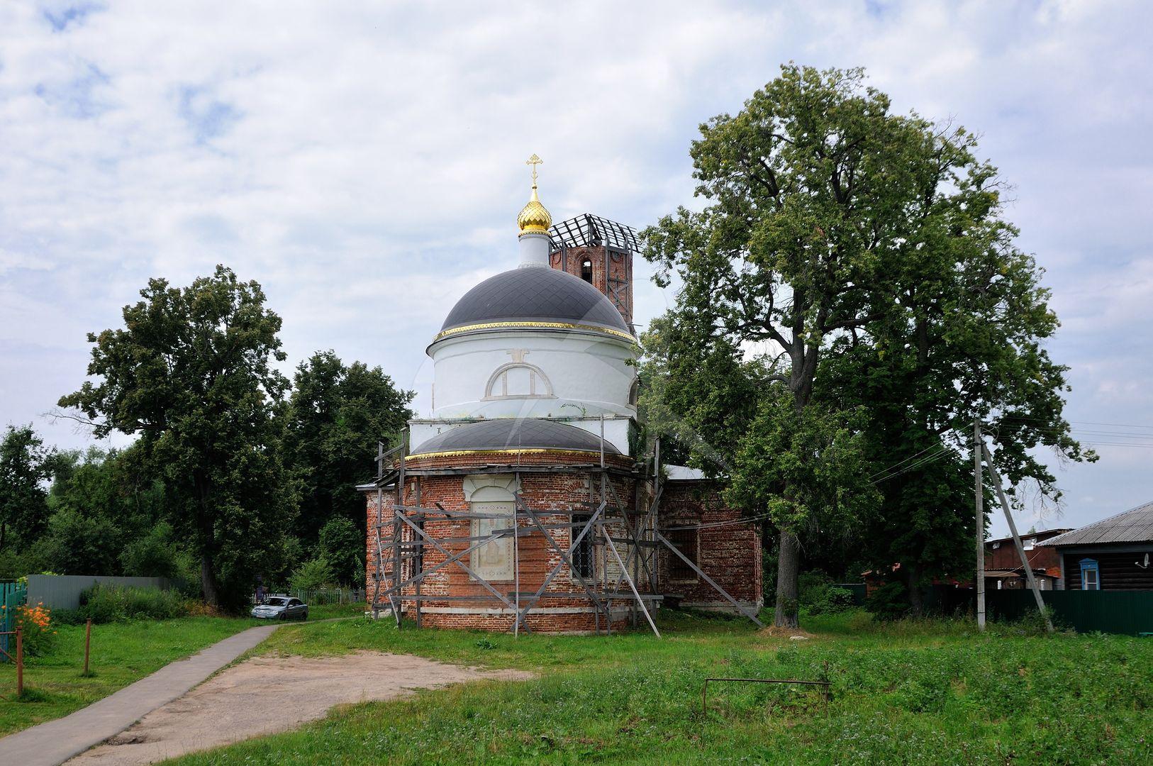 Церковь Николая Чудотворца, 1825 г., середина XIX в., усадьба «Городна»