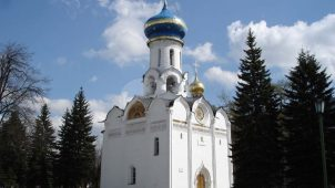 Церковь Сошествия Святого Духа, Ансамбль Троице-Сергиевской лавры