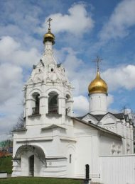 Церковь Параскевы Пятницы, Ансамбль Троице-Сергиевской лавры