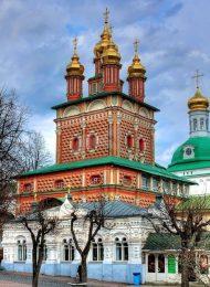 Надвратная церковь Иоанна Предтечи, Ансамбль Троице-Сергиевской лавры