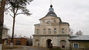 Ворота северные «Святые» с надвратной церковью Рождества Иоанна Предтечи, Покровский Хотьков монастырь