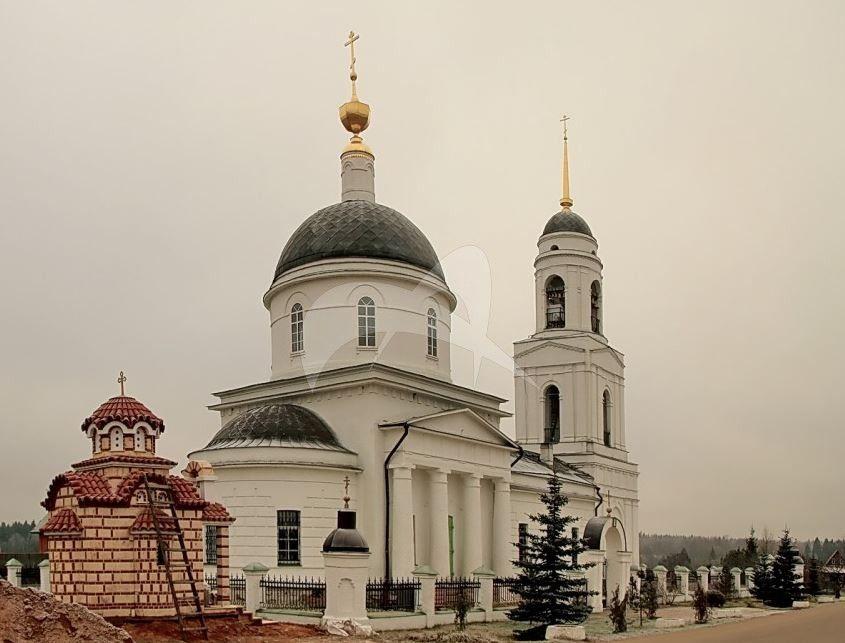 Преображенская церковь, 1840 г., арх. А.Г. Григорьев (?)