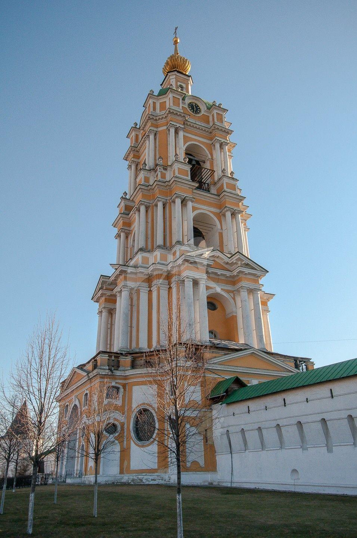 Колокольня, 1793-1795 гг., арх. И.П. Жеребцов, Ансамбль Новоспасского монастыря