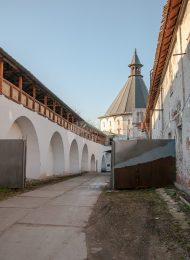 Башня угловая северо-западная, Ансамбль Новоспасского монастыря