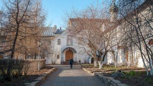Братский корпус северный, Ансамбль Новоспасского монастыря