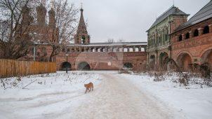 Стена-переход, XVII в., Ансамбль Крутицкого подворья