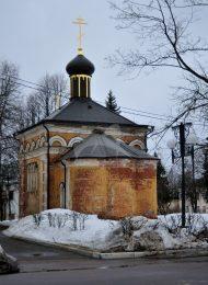 Церковь, усадьба Воробьевых, XIX в.