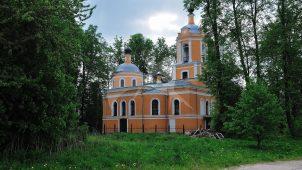 Церковь Спаса, 1866 г., усадьба «Спасское-Торбеево»