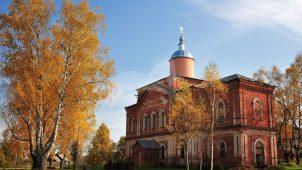 Церковь великомученика Димитрия Солунского, 1879-1884 гг., усадьба «Яковлевское»