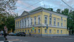 Главный дом, 1800-е гг., 2-я половина XIX в., городской усадьбы П.И. Антипина — Д.А. Прохоровой