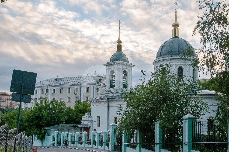 Церковь Николы в Котельниках, 1822 г., арх. О.И. Бове