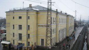 Здание вокзала, 1868 г., арх. Ф.К. Кнорре