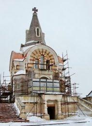 Церковь Всех Святых, Высоцкий монастырь