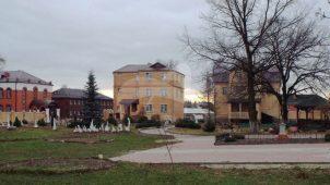 Корпус западный келейный, 1910-е гг., Покровско-Васильевский монастырь